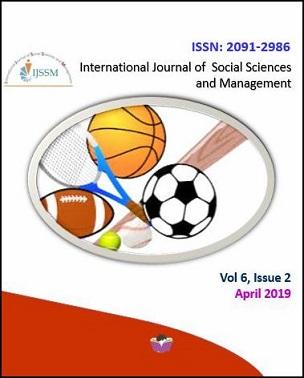Cover IJSSM