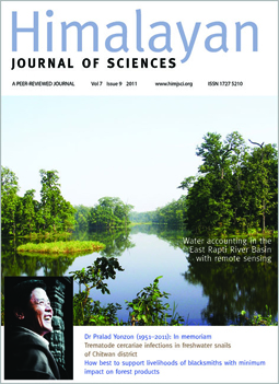 Cover of Himalayan Journal of Sciences