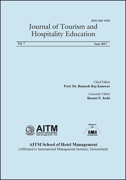 Journal of Tourism and Hospitality Education
