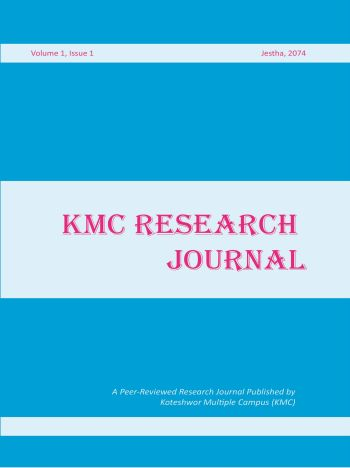 Cover KMCRJ