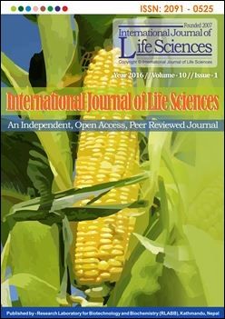 Cover of International Journal of Life Sciences