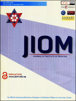 Cover of JIOM