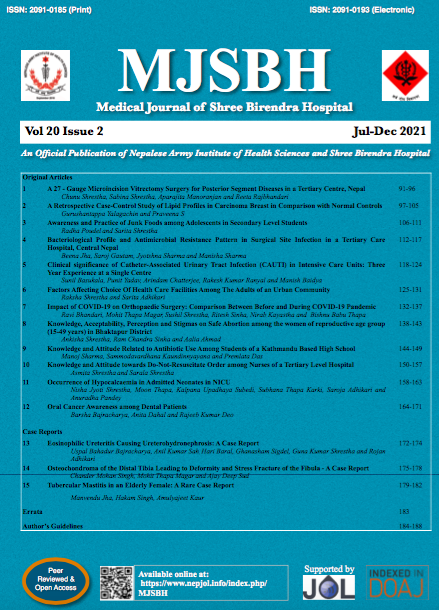 Cover MJSBH