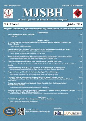 Cover of MJSBH