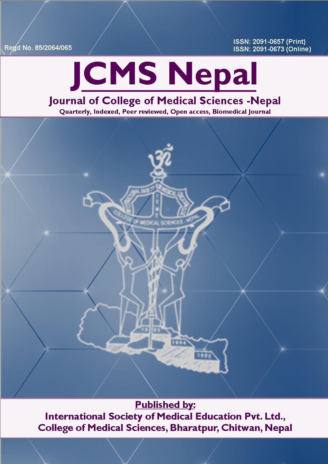 Cover JCMS-Nepal