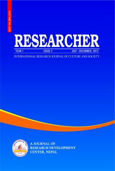 Cover RESEARCHER